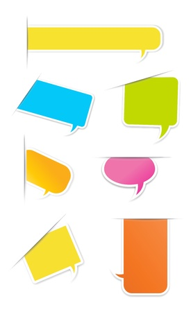 Speech Bubble and Message Box Vector