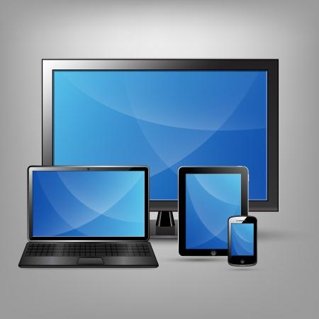 Mobiles et Gadgets Vecteurs