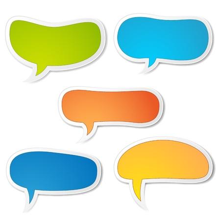 hablando: Vectores burbuja del discurso