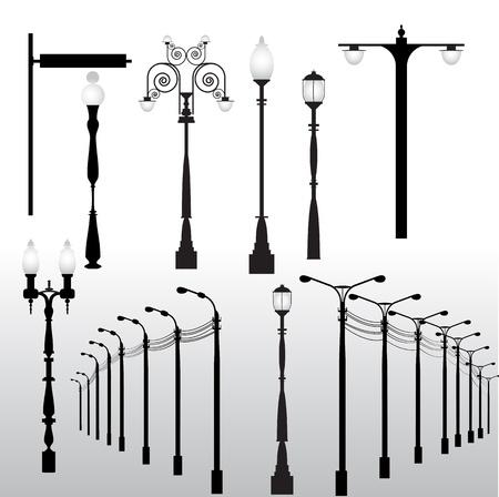 Streetlights Vectors Stock Vector - 15244365