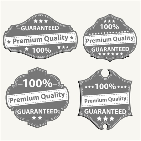 guaranty: Vector Seal and Badges
