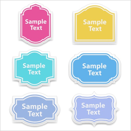 free gift: Vector Lables and Boxes
