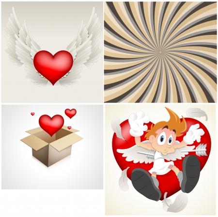 Valentines Vectors Stock Vector - 15244890