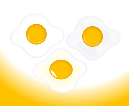Egg Yolk Vectors Stock Vector - 15244900