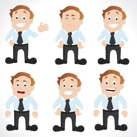 Office Employee Vectors Vector