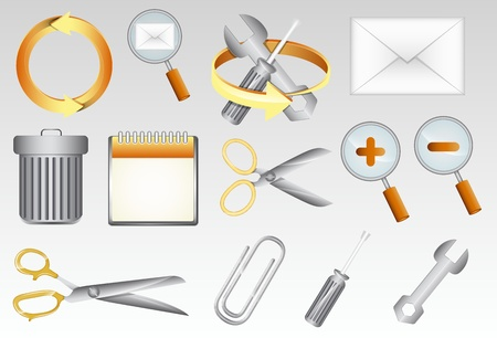 Tools Vectors Icons Vector