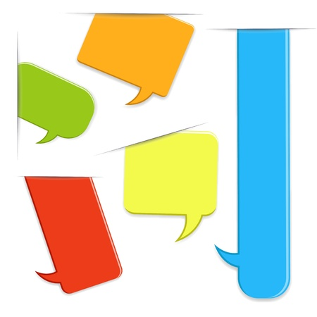 converse: Sprechblasen Vektoren