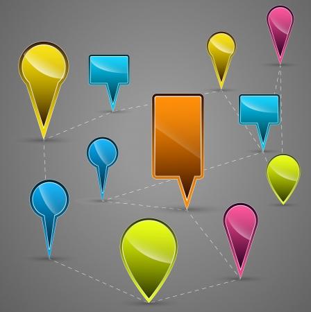 navigational: Navigational Vector Icons