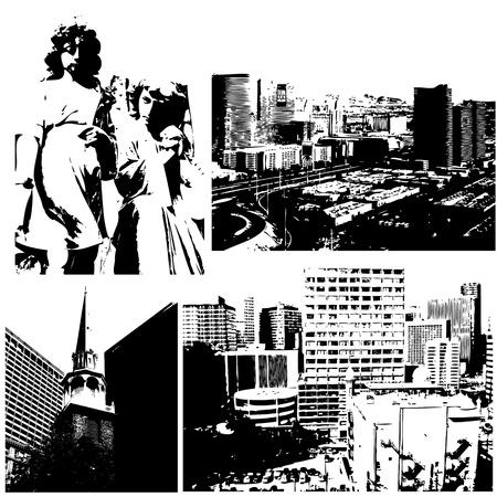 Urban Vector Designs Stock Vector - 15245005