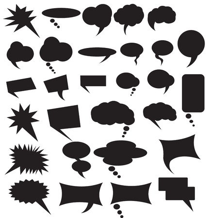 Speech Bubbles Vectors Vector