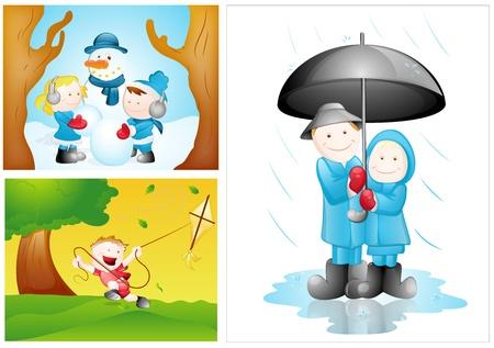 Cartoon Kids Vectors Stock Vector - 15245094