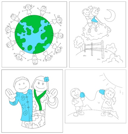Childrens Vectors Stock Vector - 15244970