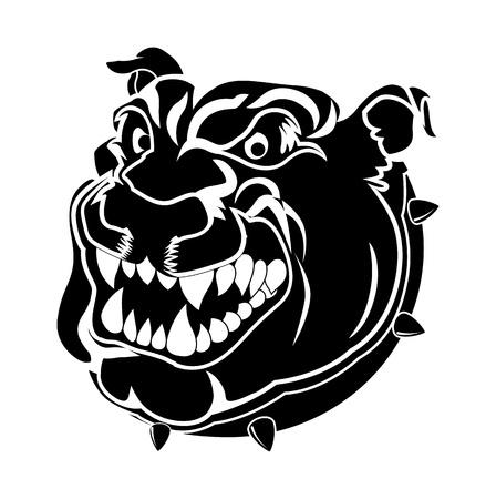 Mascot Tattoo Vector Illustration