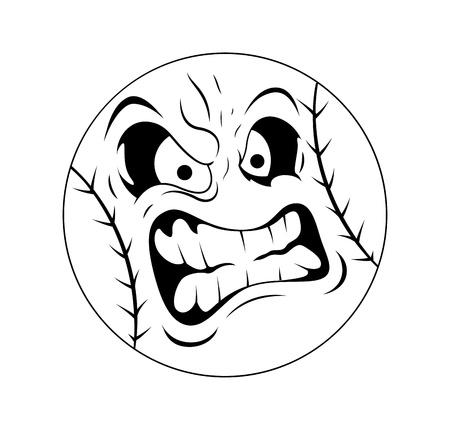 ojos caricatura: Mascot Vector Tattoo