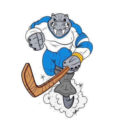 Sport Mascot Tattoo Vector Vector