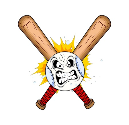 Baseball Tattoo Vector