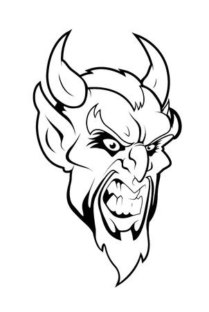 rustler: Devil Mascot Vector Character Illustration