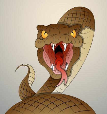 serpiente de cascabel: Serpiente Vector