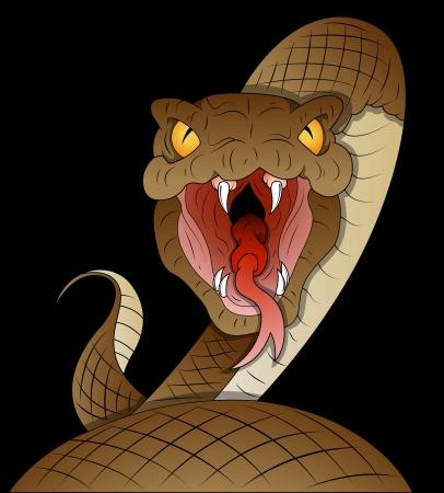 serpiente cobra: Serpiente Vector