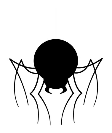 Spider Silhouette Stock Vector - 15759321