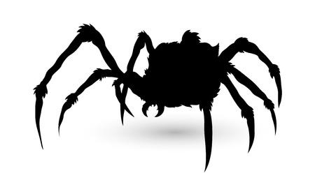 Spider Silhouette Stock Vector - 15759409