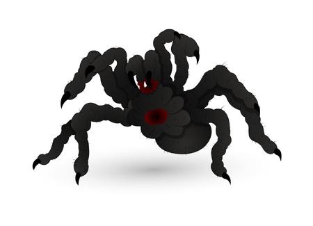 Halloween Scary Spider Stock Vector - 15759442