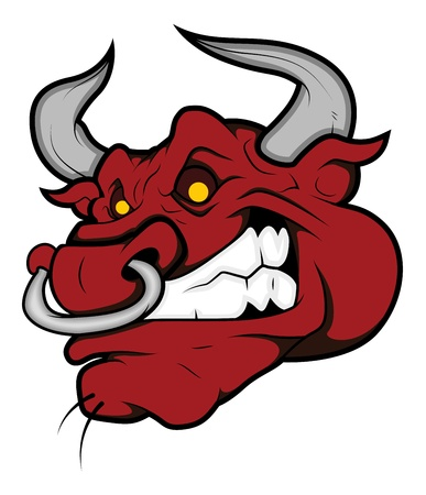 Angry Bull Vector Stock Vector - 15808824