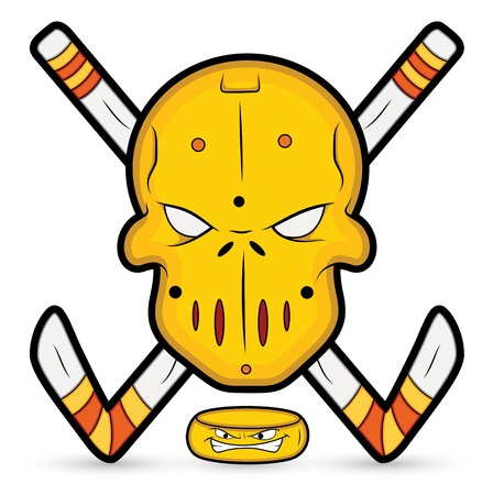 Ice Hockey Vector Mascot Vector