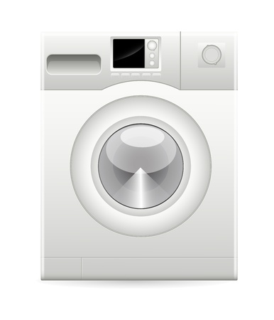 Washing Machine Vector Vector