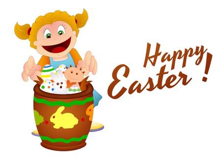 Happy Easter Vector Vector