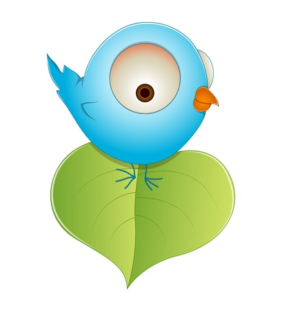 Cute Littile Bird Vector