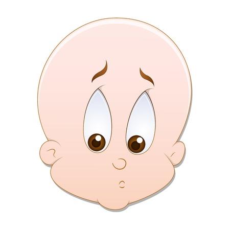 Sad Baby Vector Stock Vector - 16104573