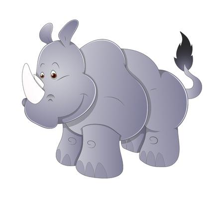 Rhinoceros Vector Vector