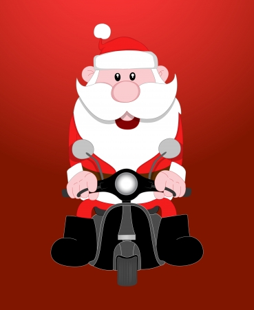 Santa Vector Illustration Stock Vector - 16104524