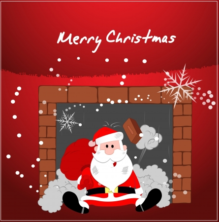 Christmas Illustration Vector Background Stock Vector - 16104702