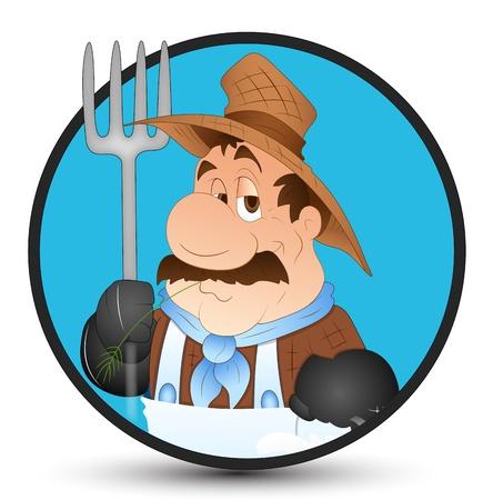 milkman: Milkman Vector Illustration