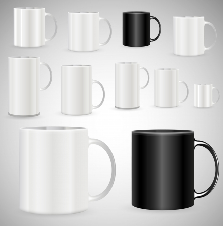 Coffee Mugs Vector Stock Vector - 16106598