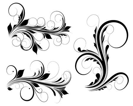 fancy: Swirls Vectors