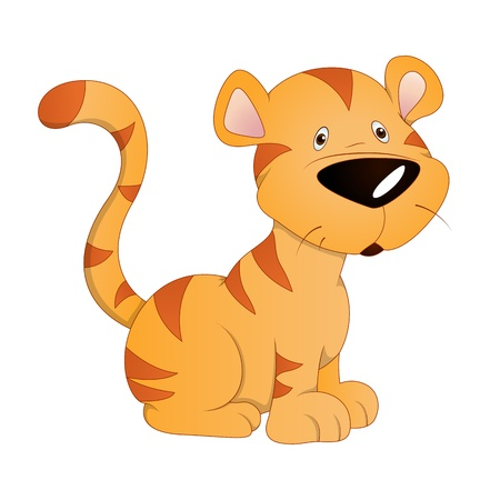Tiger Cub Vector Stock Vector - 16104514