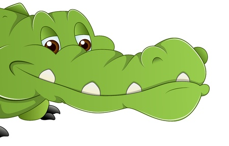 Alligator Vector Stock Vector - 16104494