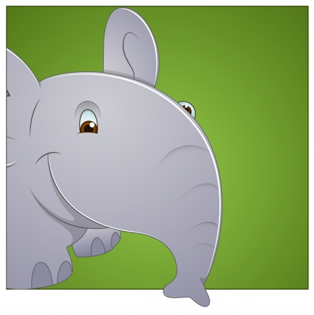 Baby Elephant Vector Vector