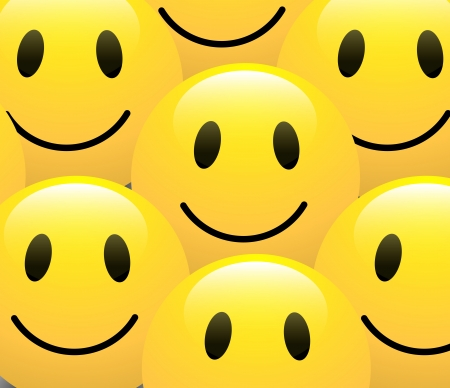 Smiley Background Vector Vector