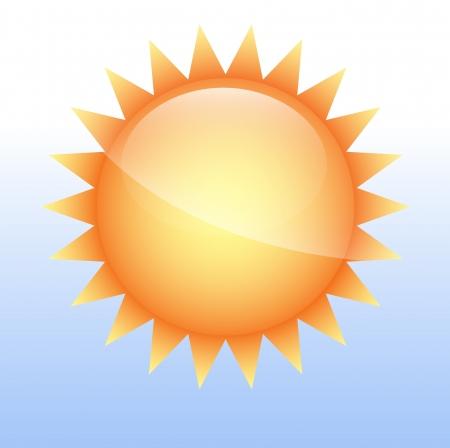 Sun Icon Vector Stock Vector - 16104792
