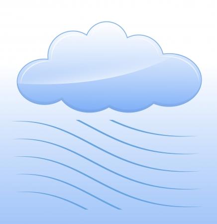 Wavy Cloud Vector Stock Vector - 16104474