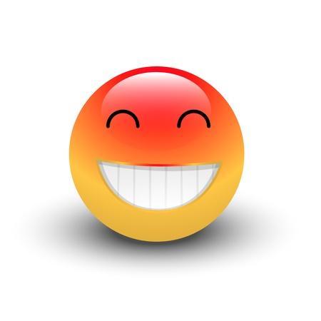 Happy Smiley Stock Vector - 16104730