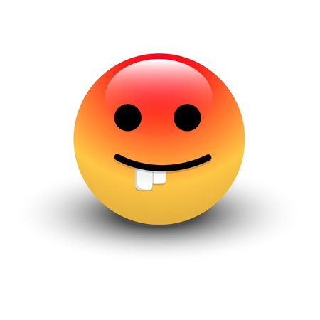 Dumb Smiley Vector Stock Vector - 16104721