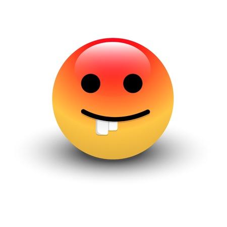 Dumb Smiley Vector Stock Vector - 16104721