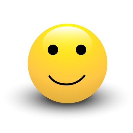Happy Smiley Icon Stock Vector - 16104676