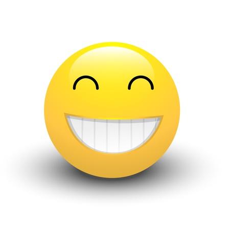 emoticone: Ridere Smiley