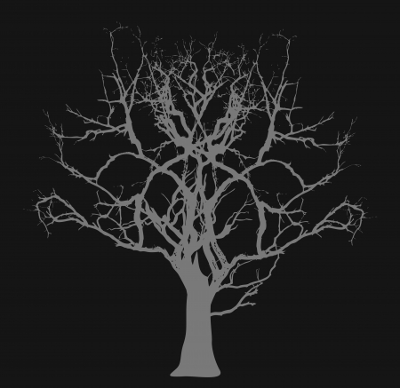 halloween concept: Dead Tree - Halloween Concept